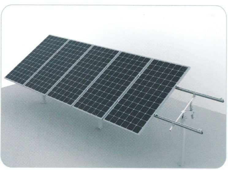 Solar PV Panel Pole Mounting