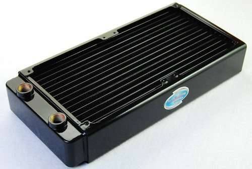 240mm water cooling Radiator Copper