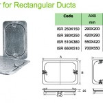 Ventilation Rectangle Duct Access Door