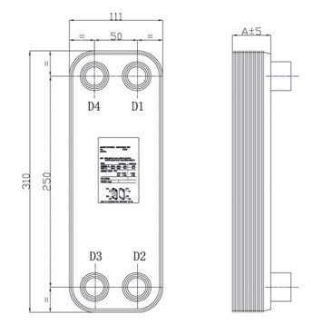 Brazed Plate Heat Exchanger 5a