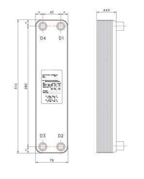 Brazed Plate Heat Exchanger 6a