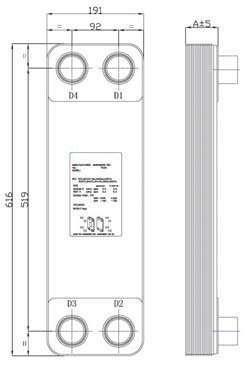 Brazed Plate Heat Exchanger 7a