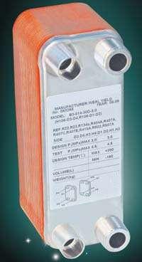 Bphe B3 014 Brazed Plate Heat Exchanger Manufacturer