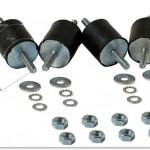 C40 Metal-Rubber Antivibration Part