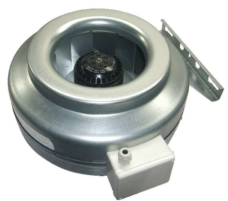 High Temp Inline Fans : High temperature duct fan booster just b use