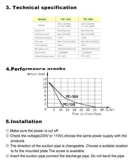 Condensate Drain Pump Type B2