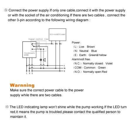 Condensate Drain Pump Type B3 condensate drain pump manufacturer supplier china condensate pump wiring diagram at soozxer.org