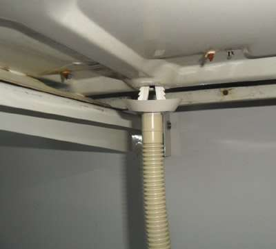 Condensate Exit For Air Conditioner Outdoor Unit