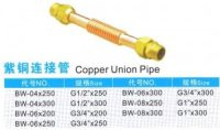 Copper Union Pipe