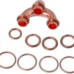 Copper brazing rings