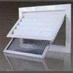 Door link grille