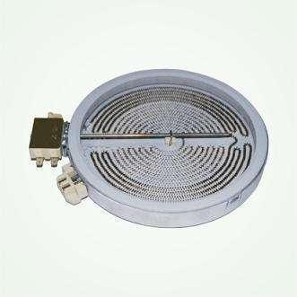Dual-Circuit radiant plate