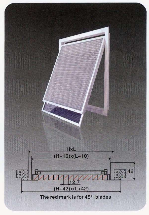 Metal Egg Crate Grille : Eggcrate air grille manufacturer supplier china