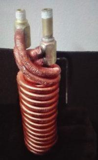 Finned Tube Coil Immersion Heat Exchanger