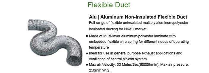 Flexible ducting 2