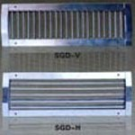 Grille for spiral duct 1