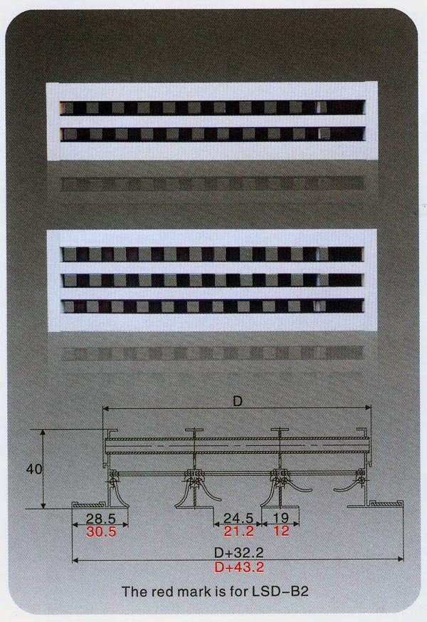 Linear Slot Air Diffuser Manufacturer Supplier China