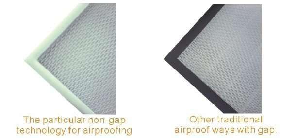 Mini-pleated HEPA Filter 2
