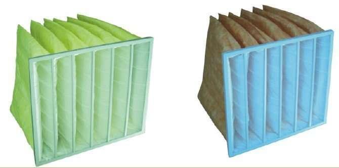 Multi-Pocket Air Filter