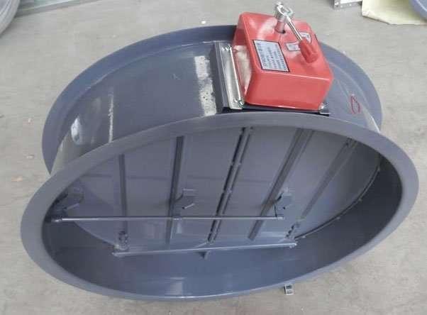 multi-blade-circular-fire-damper-by-manual