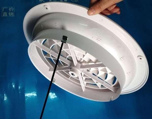 Plastic round air diffuser 2
