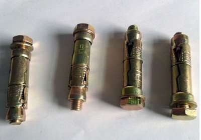 3 segment shield anchors