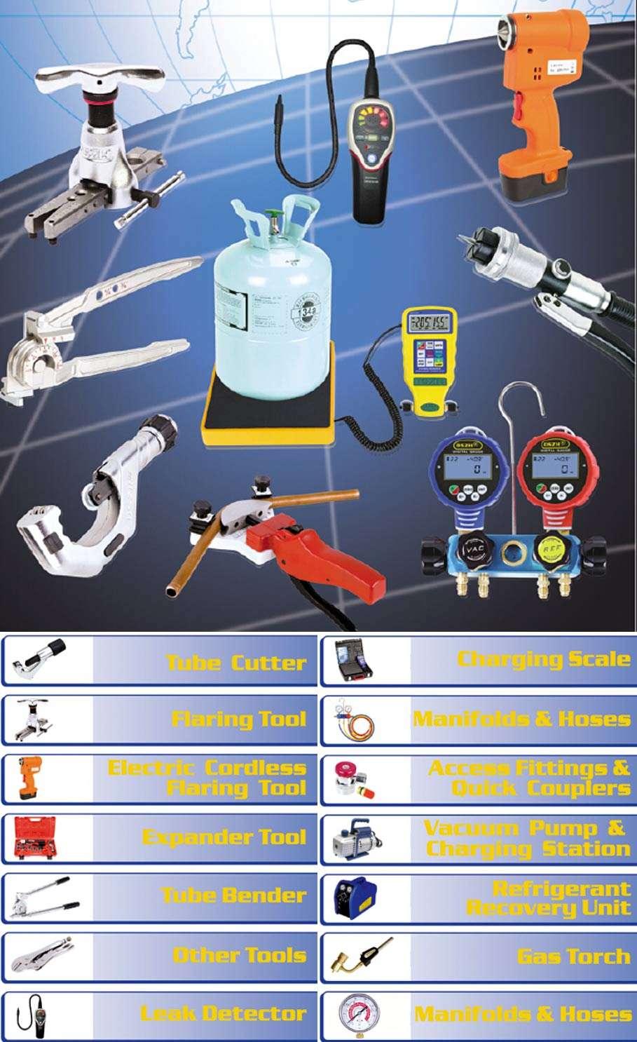 Refrigeration Tools Meter Instruments