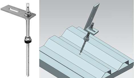 Solar Mount Roof Bolt