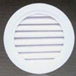 Round water proof grille