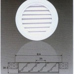 Waterproof Round Air Grille