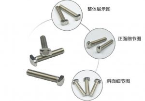 Solar Mount Rail T bolt 8