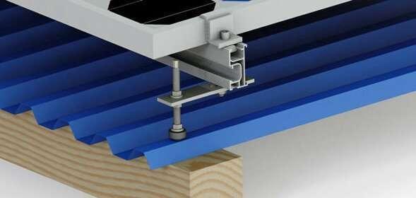 Solar Mount Roof Installation Bolt