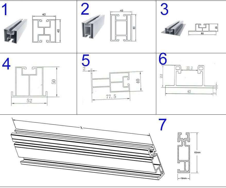 Solar PV Module Mount Rail