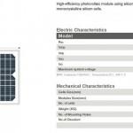 Solar Panel 10W MonoCrystalline