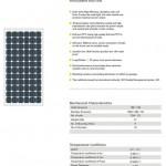 Solar Panel 260W MonoCrystalline