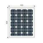 Solar-Panel-30W-mono