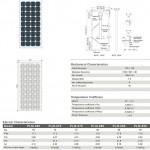 Solar Panel 90W MonoCrystalline