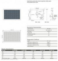 Solar Panel 95W MonoCrystalline