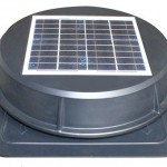 Solar-Powered Roof-Mount Exhaust Fan