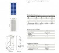Solar Panel 100W polycrystalline