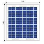 Solar panel 10W poly