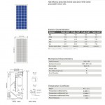 Solar Panel 110W polycrystalline