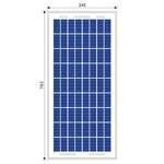Solar panel 30W poly
