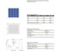 Solar Panel 35W polycrystalline