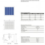 Solar Panel 40W polycrystalline