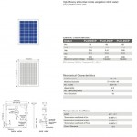 Solar Panel 60W polycrystalline
