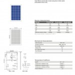 Solar Panel 70W polycrystalline