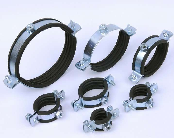 Spiral Clamp With Rubber