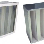 V-Bank HEPA Air filter with Big Air Volume