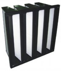 V-Type Mini-pleat Medium Air Filter